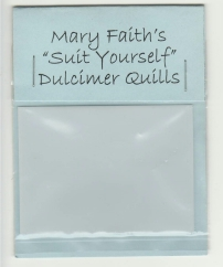 Mary Faith's Dulcimer Quills