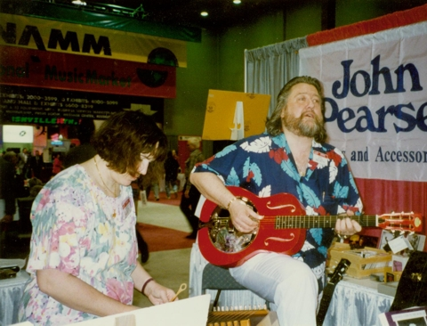 John & Mary Faith at NAMM
