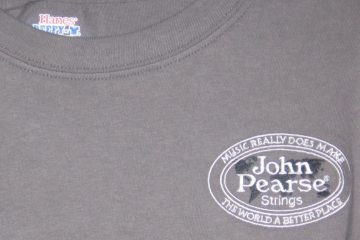 "John Pearse® ""Music Really Does..."" Grey Tee-Shirt"
