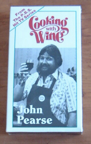 Cooking with Wine Video Tape